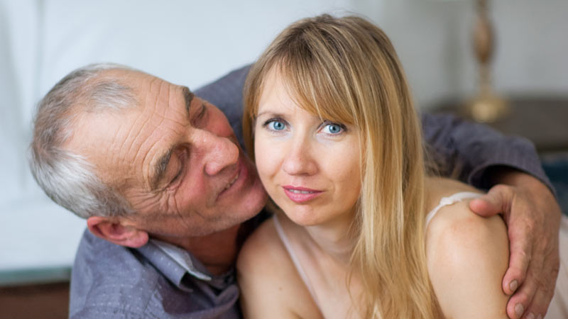 marrying a younger female is a good idea for a 60+ Men