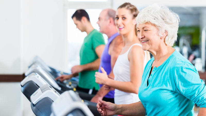 Gym Fashion for Senior Women