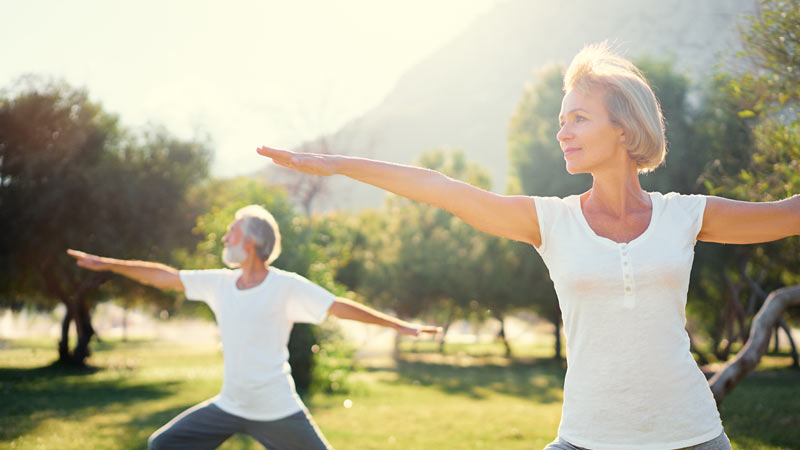 10 Best Gentle Yoga Postures For Seniors