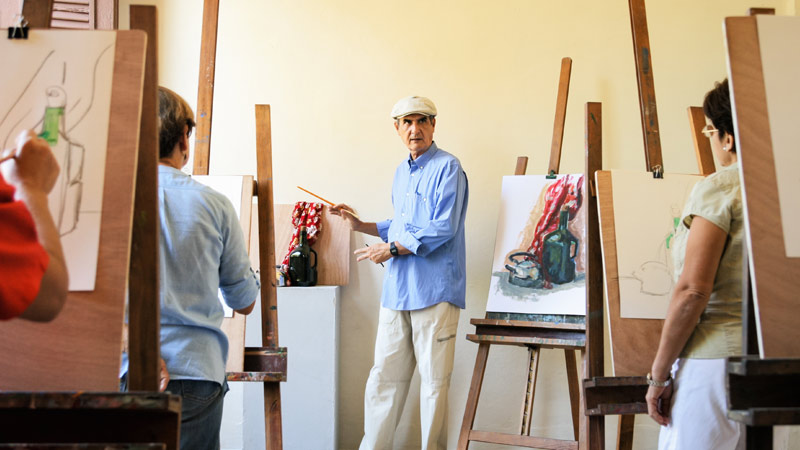 10 Benefits Of Art Engagement And Art Therapy For Seniors